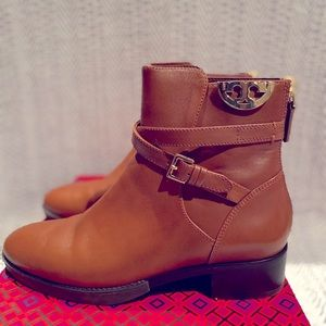 Tory Burch Calf Leather Bootie